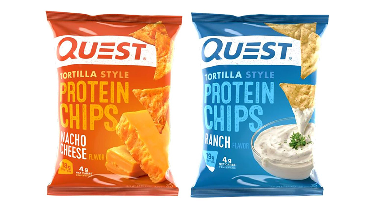 Чипсы Quest Tortilla Style Protein Chips