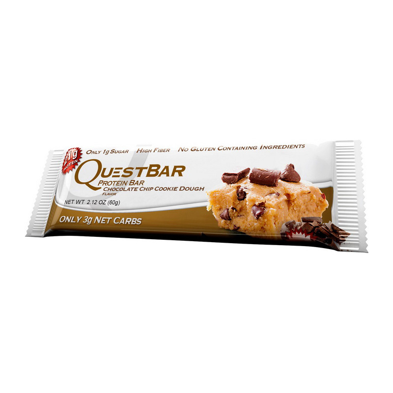 QuestBar Chocolate Chip Cookie Dough 60 g