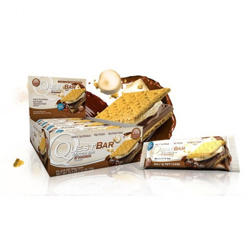 QuestBar S'Mores 60 g x 12